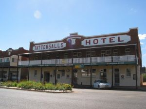 Tattersalls Hotel Baradine - Accommodation Brunswick Heads
